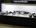 Yasa dışı silah ticareti yapan 15 kişiye gözaltı