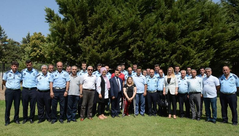 Siverek belediyesi zabıta haftasını kutladı