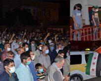 Siverek'te Mescid-i Aksa'ya saldırıları protesto edildi