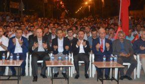 """Siverek'te """"15 Temmuz Demokrasi ve Milli Birlik Günü"""""""