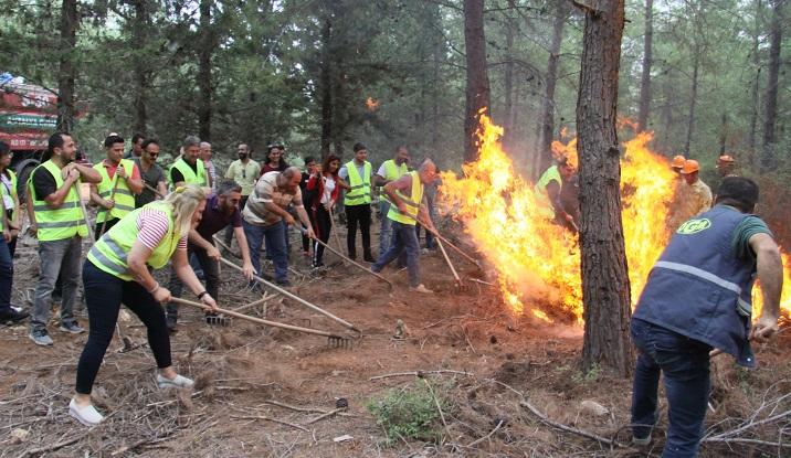İlk sivil yangın söndürücüleri göreve hazır