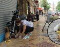 Şanlıurfa'da sokakları gezip hayvanları beslediler