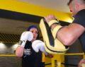 Gençlik hayali olan kick boksa 55'inde kavuştu