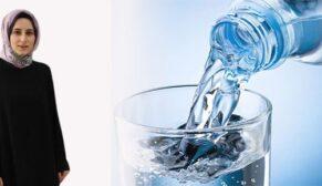 Doğal ya da kaynak suları arasındaki fark ne?
