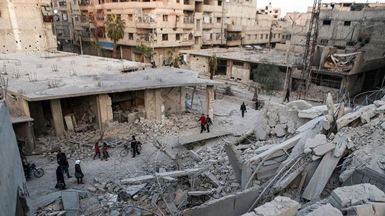 Suriye hükümeti sivillere bildiri attı: Doğu Guta'yı terk edin