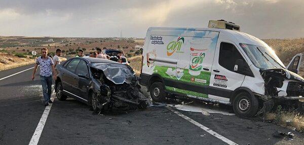 Suruç yolunda trafik kazası: 5 yaralı