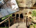 Bin esire yaptırılan tünel, ziyaretçileri tarihi yolculuğa çıkarıyor