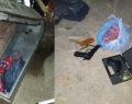 Camideki tabuttan çalıntı silahlar çıktı