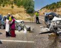 Tarım işçileri Urfa'ya gelirken kaza yaptı