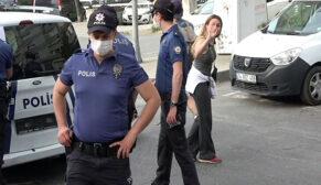 Polisin ceza kestiği kadından gazeteciye tehdit