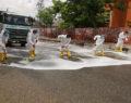 Şanlıurfa'da virüse karşı çalışmalar devam ediyor