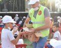 Viranşehir'de çocuklar tiyatro izledi