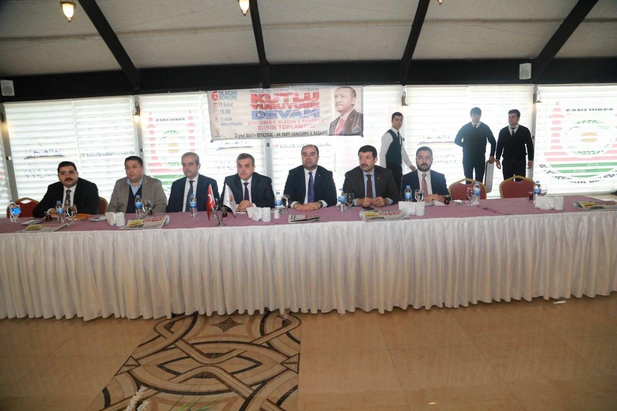 6. Olağan il kongresi öncesi basın toplantısı