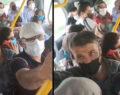Toplu taşımada ürküten görüntü