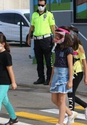 Şanlıurfa'da çocuk trafik eğitim parkı
