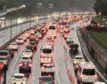 Kısıtlama sonrası trafik yoğunluğu