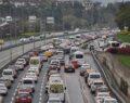 58 saatlik kısıtlama sonrası trafik yoğunluğu