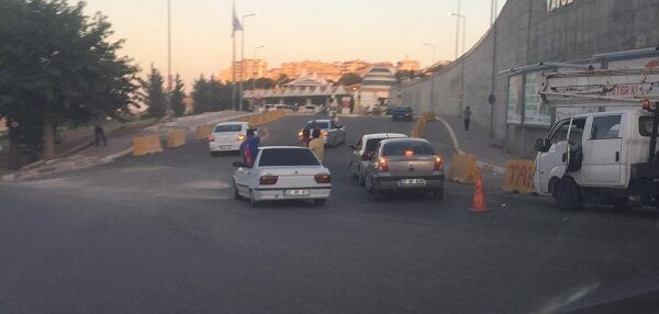 Şanlıurfa'da trafik kurallarını dinlemediler
