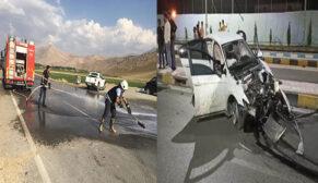 2 ayrı trafik kazası: 4 yaralı