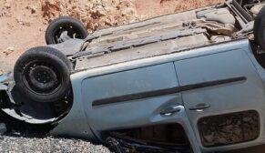 Trafik kazası: 1'i ağır 3 yaralı