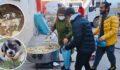 Şanlıurfa'da kazanlar sokak hayvanları için kaynadı