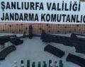 Şanlıurfa'da silah kaçakçılarına operasyon: 3 tutuklama