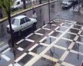 Şanlıurfa'da kaza anı kameraya takıldı