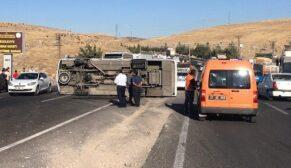 Şanlıurfa'da zincirleme kaza: 14 yaralı