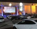 Urfa'da açık havada müzik günleri ile arabada sinema etkinliği