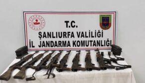 Şanlıurfa'da silah kaçakçılığına operasyon