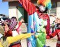 Şanlıurfa'da köy çocuklarına palyaçolu, müzikli eğlence