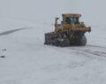 Şanlıurfa'da karla mücadele