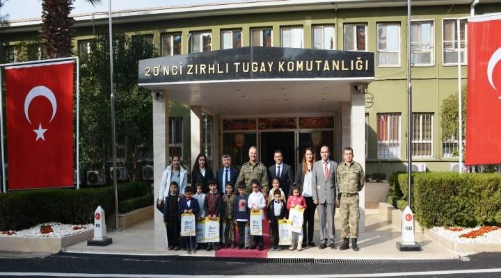 Minik öğrencilerden Mehmetçiğe mektup