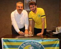 Şanlıurfaspor'da yeni transfer