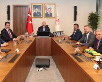 Şanlıurfaspor'dan Bakan Soylu'ya ziyaret