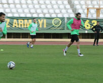 Şanlıurfaspor'da Pazarspor hazırlıkları devam ediyor