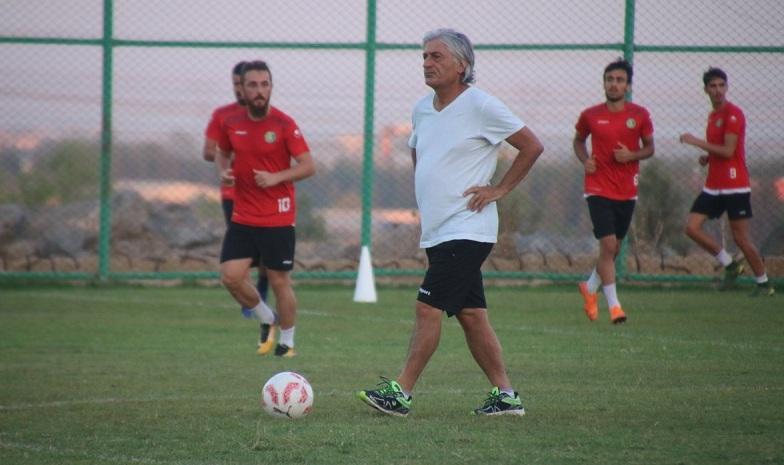 Kahramanmaraşspor hazırlıkları devam ediyor