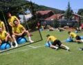 Şanlıurfaspor'da antrenmanlar devam ediyor
