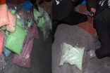 Çok miktarda uyuşturucu madde ele geçirildi