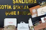 Şanlıurfa'da uyuşturucu operasyonu: 23 tutuklama