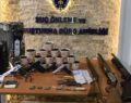 Uyuşturucu yetiştirilen eve polis baskını