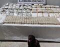 Yüklü miktarda uyuşturucu madde ele geçirildi
