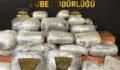 Şanlıurfa'da yüklü miktarda uyuşturucu madde ele geçirildi