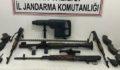 18 kilogram TNT ve mühimmat ele geçirildi