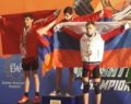 Van'lı sporcu İsrail'den ikincilik ile döndü
