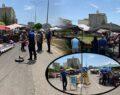 Viranşehir'de semt pazarında denetim