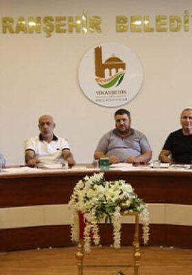 Viranşehir Belediyespor'da ilk yönetim kurulu toplantısı