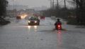 Sağanak yağış , yaşamı olumsuz etkiledi