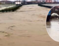 Şiddetli yağış dereleri taşırdı