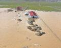 Tarım arazileri ve hayvan çiftlikleri su altında kaldı